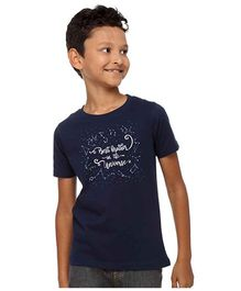 BonOrganik Best Brother In The Universe Tee - Navy Blue