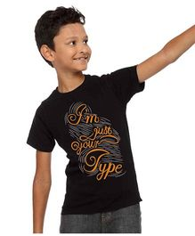 BonOrganik I Have Best Sister Tee For Boys - Black