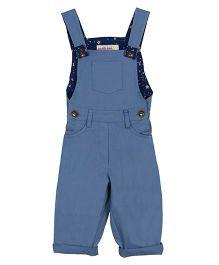 My Li'l Lambs Stylish Dungaree - Blue