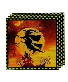 Partymanao Halloween Witch Napkins - Pack Of 10