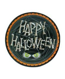 Partymanao Happy Halloween Plates - Pack Of 10