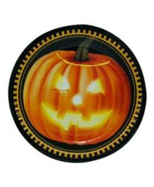 Partymanao Halloween Fright Night Plates - Pack Of 10