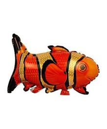 Partymanao Fish Shaped Foil Balloon - Red