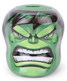 Marvel Hulk Shape Coin Bank - Green