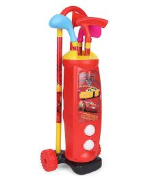 Disney Pixar Cars Golf Kit - Red