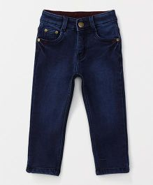 Olio Kids  Full Length Jeans - Dark Blue
