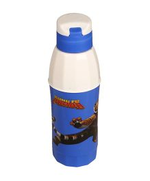 Kung Fu Panda Cool Sip Water Bottle Blue Printed - 550 ml