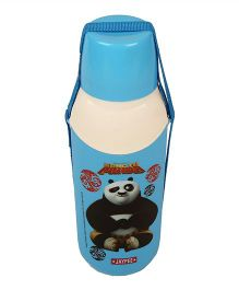 Kung Fu Panda Carry Cool Water Bottle Blue - 600 ml