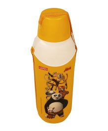 Kung Fu Panda Carry Cool Water Bottle Yellow - 800 ml