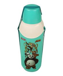 Kung Fu Panda Carry Cool Water Bottle Green - 800 ml