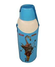 Madagascar Carry Cool Water Bottle Blue - 800 ml