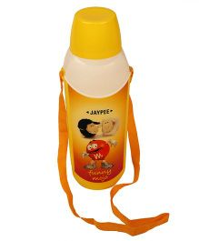 Jaypee Cool Buddy Water Bottle Yellow - 600 ml