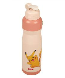Pokemon Icy Cool Water Bottle Peach - 750 ml