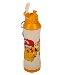 Pokemon Icy Cool Water Bottle Yellow White - 750 ml