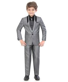 Jeet Ethnics Party Wear Suit Set - Grey