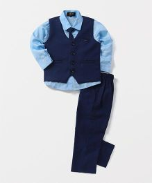 Robo Fry 3 Piece Party Suit With Tie - Blue