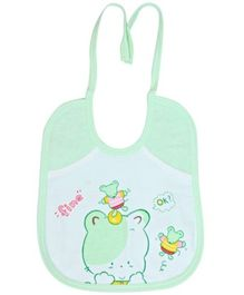Child World Bibs With Bear Print