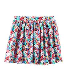 Carter's Floral Jersey Skort - Multi Color
