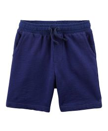Carter's Easy Pull-On Knit Shorts - Navy