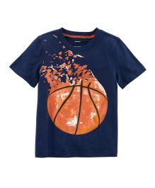 Carter's Basketball Jersey T-Shirt - Navy