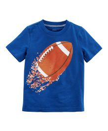 Carter's Football Jersey T-Shirt - Blue