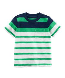 Carter's Colorblock Pocket T-Shirt - Green