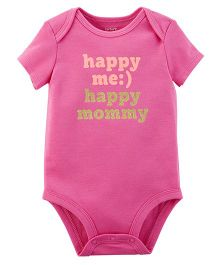 Carter's Happy Me Collectible Bodysuit - Pink
