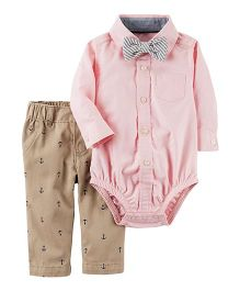 Carter's 3-Piece Dress Me Up Set - Pink