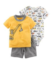 Carter's 3-Piece Little Short Set - Yellow