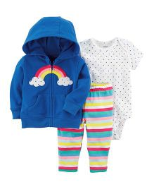 Carter's 3-Piece Little Jacket Set - Blue
