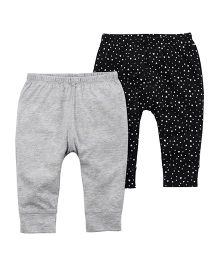 Carter's 2-Pack Babysoft Pants - Grey Black