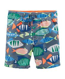 Carter's Fish Swim Trunks - Multi Colour