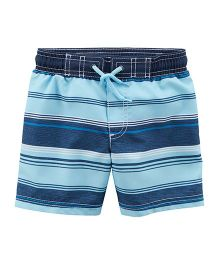 Carter's Striped Swim Trunks - Blue