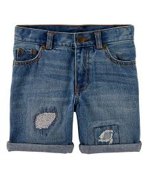 Carter's 5-Pocket Denim Shorts - Blue