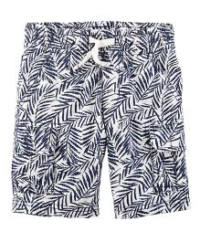 Carter's Easy Pull-On Poplin Shorts - White
