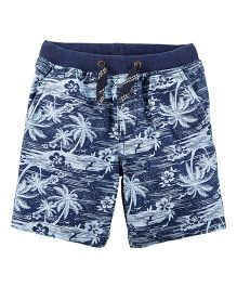 Carter's Easy Pull-On Dock Shorts - Blue