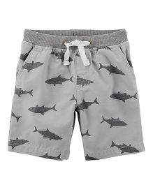 Carter's Easy Pull-On Dock Shorts - Gray