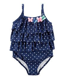 Carter's Butterfly Swimsuit - Navy Blue