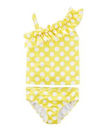 Carter's Polka Dot Swimsuit - Yellow