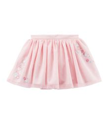 Carter's Embroidered Tutu Skirt - Pink