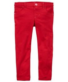 Crater's French Terry Pants - Red