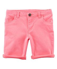 Carter's Stretch Skimmer Shorts - Light Pink