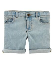 Carter's Stretch Denim Shorts - Blue