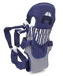 3 Way Baby Carrier Car Patch - Navy Blue