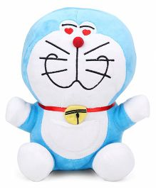 Doraemon Soft Toy Blue White - 25.4 cm