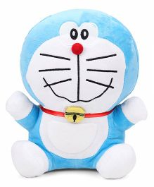Doraemon Plush Soft Toy Blue And White - 25 cm