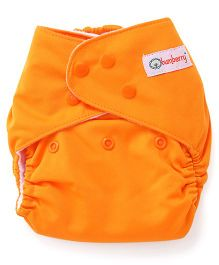 Bumberry Pocket Cloth Diaper With One Microfiber Insert - Orange