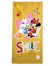Sassoon Disney Daisy Minnie Towel With Gift Box - Yellow