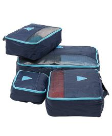 EZ Life Travel Essential 4 Pcs Set - Royal Blue
