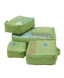 EZ Life Travel Essential 4 Pcs Set - Green